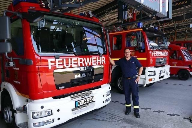 Feuerwehr Laufenburg erhält neues Fahrzeug