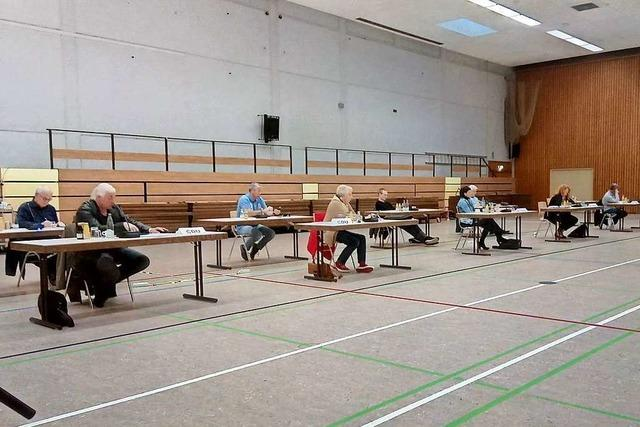 Der Gemeinderat Grenzach-Wyhlen tagt im Corona-Modus