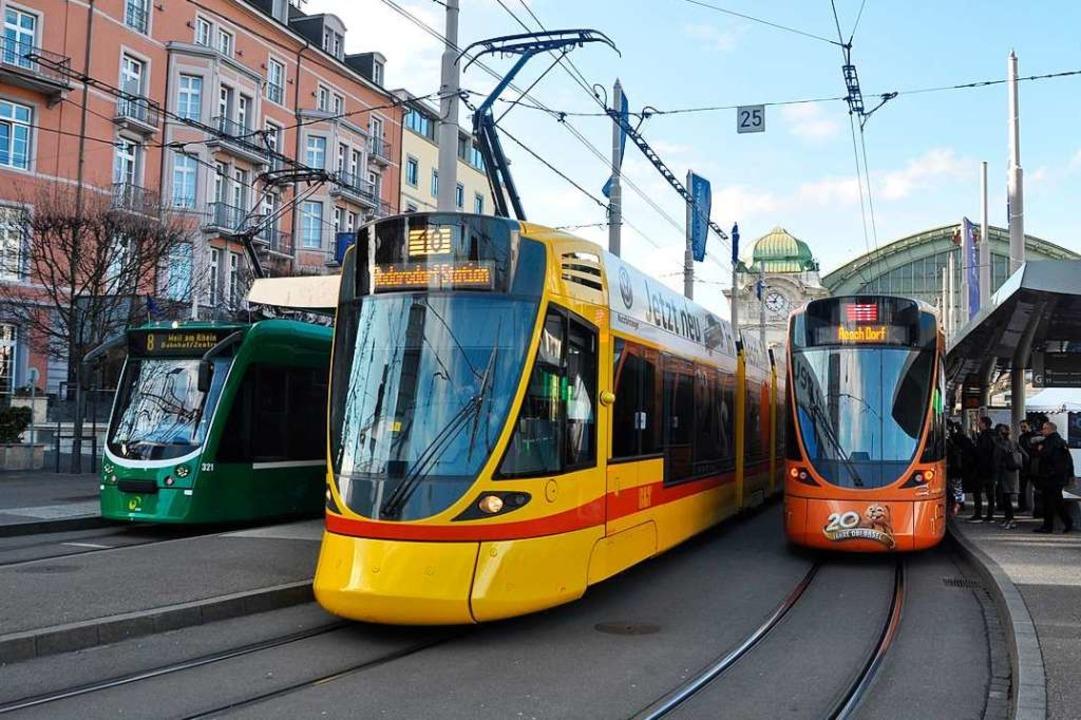 Der Zentralbahnplatz soll im Zuge der ...en für des Herzstück entlastet werden.  | Foto: Daniel Gramespacher