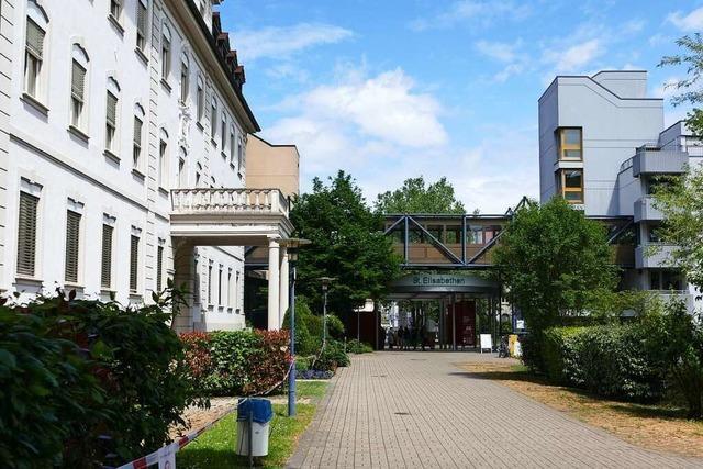 Der Betrieb im Lörracher Elisabethenkrankenhaus läuft relativ normal