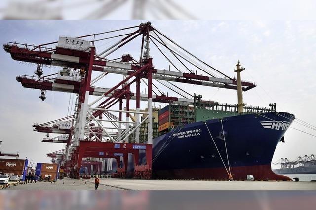 Das weltgrößte Containerschiff