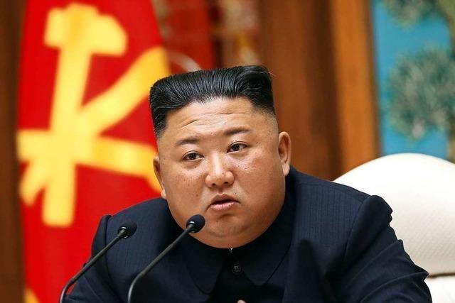 Kim Jong-un gibt der Welt wieder einmal Rätsel auf