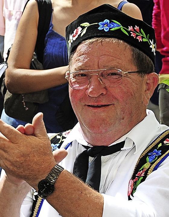 … und Vereins-Chef.     Foto: Horst Dauenhauer, Privat
