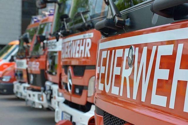 Erneut muss die Feuerwehr in die Lörracher Kolpingstraße ausrücken