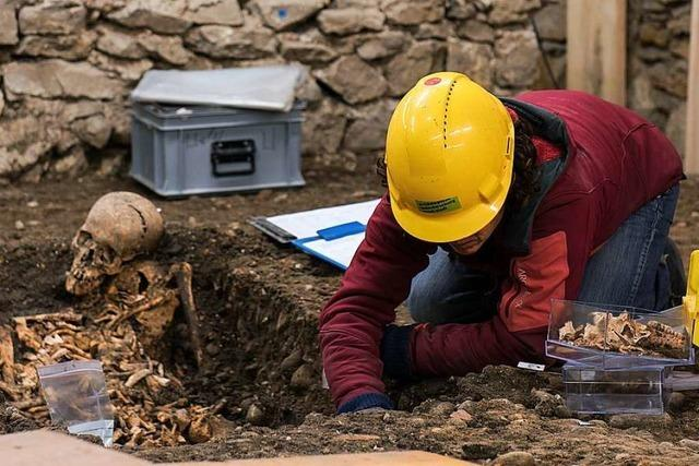 In Basel werden Zeugnisse aus der 1000-jährigen Stadtgeschichte ausgegraben