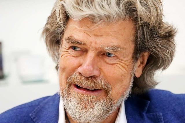 Reinhold Messner hofft auf positive Effekte der Corona-Krise