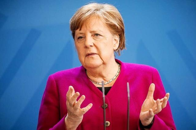 Livestream: Pressekonferenz von Bundeskanzlerin Angela Merkel