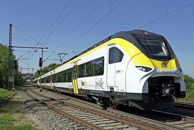 Bahnfotograf bekommt Testzüge vor die Linse
