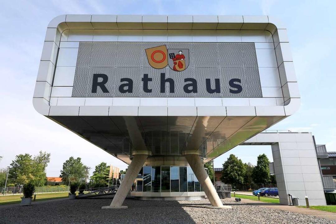 Auch da Bürgerbüro in Meißenheim öffne...rdings gelten Sicherheitsbestimmungen.  | Foto: Christoph Breithaupt