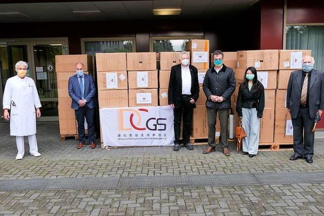 China-Kontakte fürs Bad Krozinger Herzzentrum genutzt