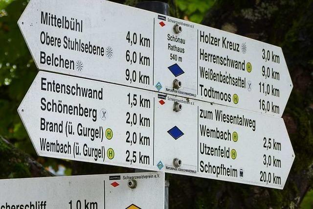 Appell von Schopfheims Bürgermeister: Am 1. Mai nicht wandern gehen