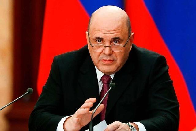 Russischer Regierungschef Mischustin mit Coronavirus infiziert