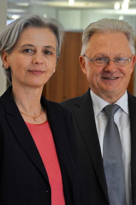 nes Niederschuh und Bernhard Schlageter    Foto: Nicolai Kapitz