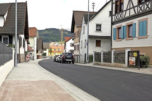 Friedenstraße ist fertig