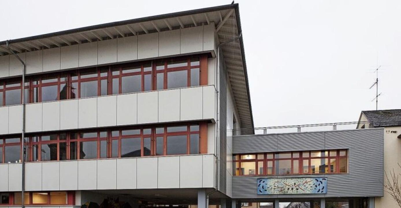 Das Elzacher Gebäude des Schulzentrums Oberes Elztal.     Foto: Photographer: Gabriele Zahn