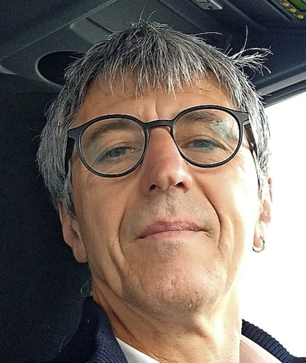 Selfie aus dem Bus: Gerhard Himmelsbach    Foto: privat
