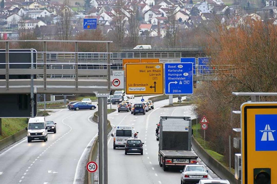 Beim Großprojekt Zentralklinikum muss ...n, wie hier an der Hasenloch-Kreuzung.  | Foto: Peter Gerigk