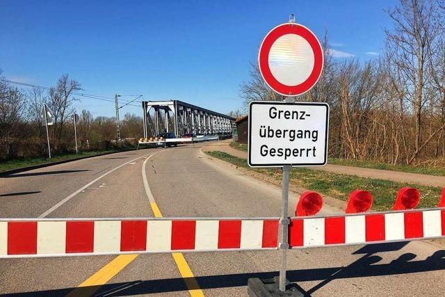 Bürgermeister von Neuenburg und Chalampé fordern, Grenzübergang wieder zu öffnen