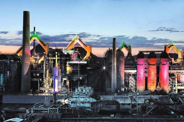 Industriekultur trifft Naturschauspiel