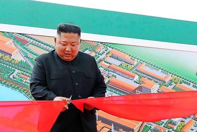 Kim Jong-un nach wochenlanger Abwesenheit aufgetaucht