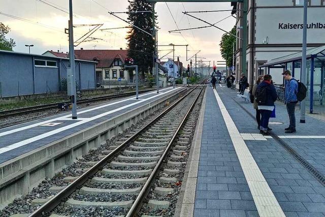 Zum Schulstart gibt's wieder mehr Züge auf der Rheintalbahn und am Kaiserstuhl
