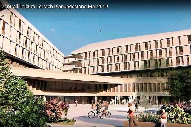 Meilenstein für Bau des Zentralklinikums in Lörrach