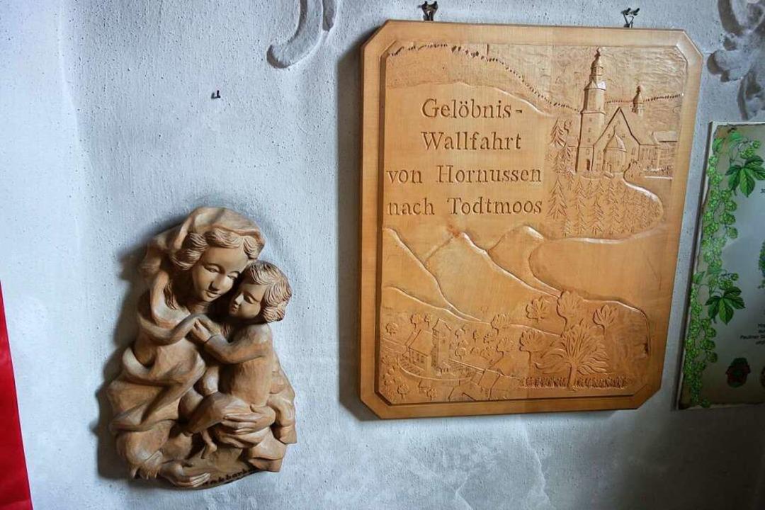Der Überlieferung nach pilgern seit de...laubten an die schützende Hand Marias.  | Foto: Florian Kech