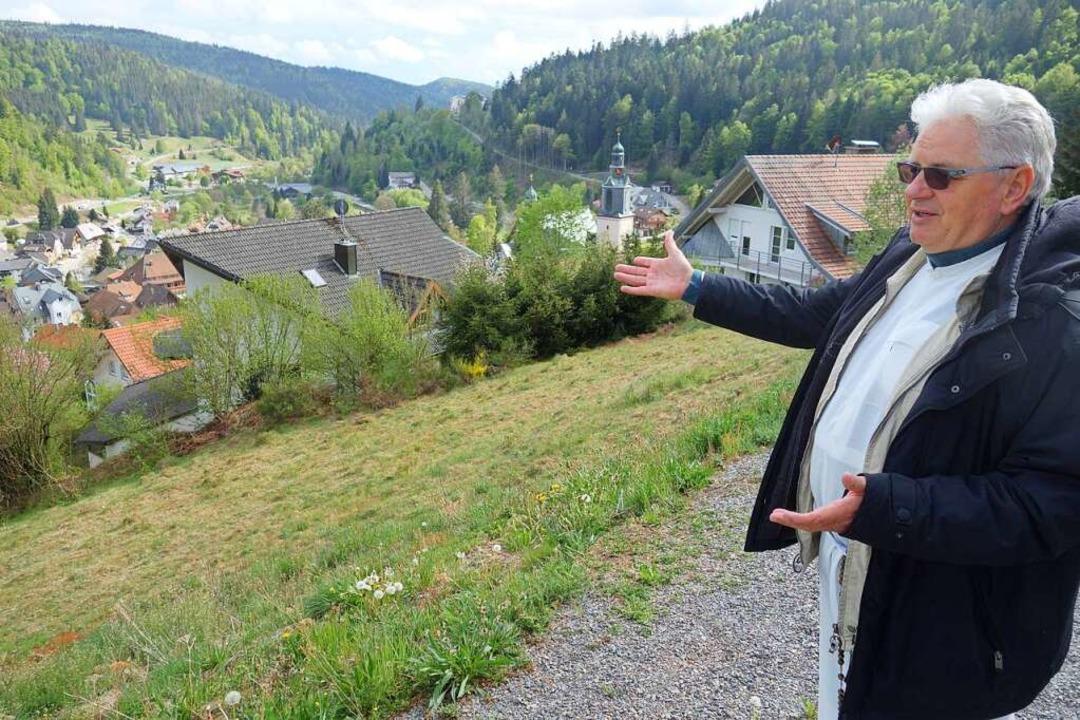 1987 kam Pater Roman, der in der Nähe ...nstation als Seelsorger im Dreisamtal.  | Foto: Florian Kech