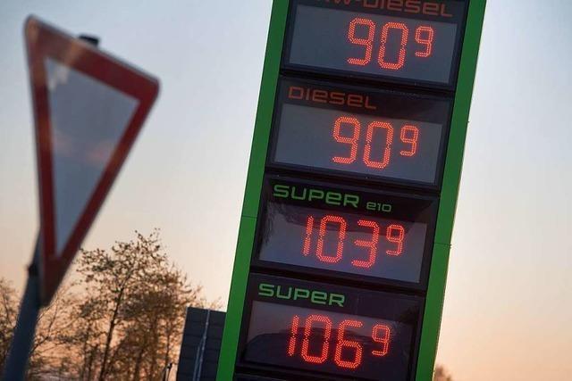 Die Inflationsrate betrug im April nur 0,8 Prozent