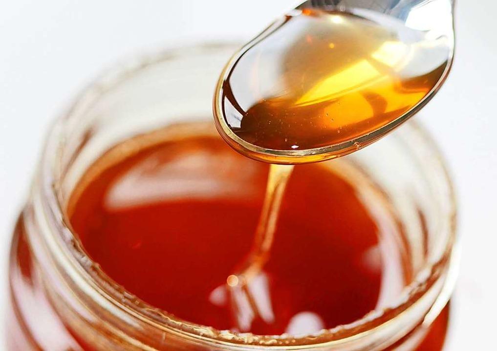 Wie entsteht Honig?  | Foto: Oliver Berg (dpa)