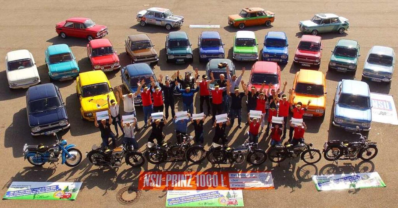 Es hätte ein großes Fest werden sollen...Racing-Team alles auf 2022 verschoben.  | Foto: privat