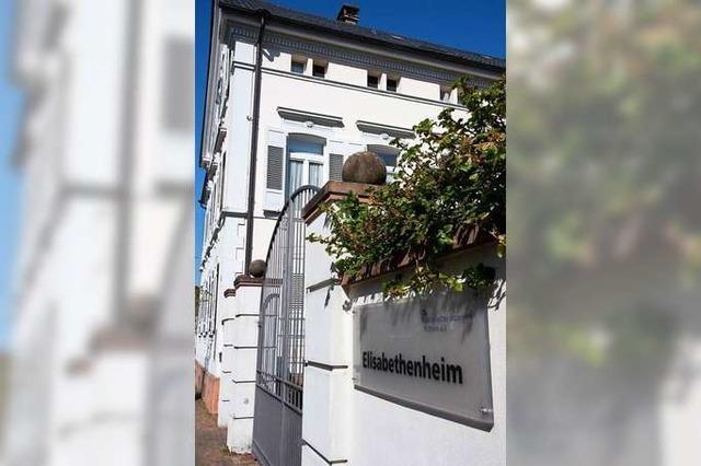 Im Elisabethenheim in Müllheim startet eine Notbetreuung für Senioren