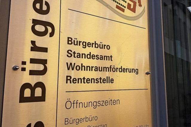 Bürgerbüro und Mediathek sind wieder geöffnet