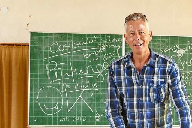 Wie das Städtische Gymnasium sich auf den ersten Schultag in der Corona-Krise vorbereitet hat