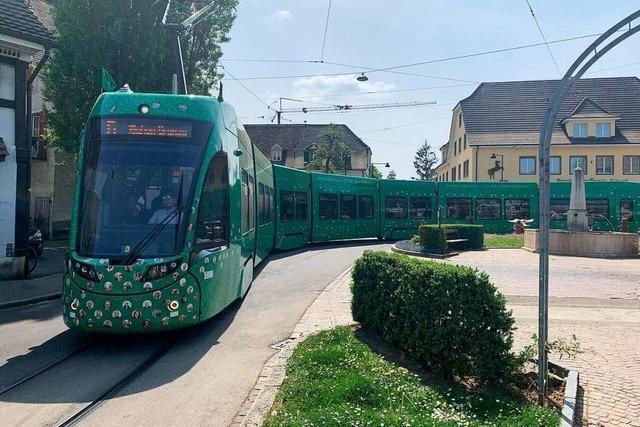 Vor 125 Jahren fuhr in Basel erstmals eine elektrische Straßenbahn