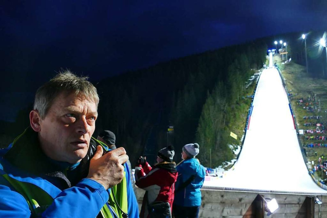 Generalsekretär Joachim Häfker ist ber...isprung-Weltcup am 9./10. Januar 2021.  | Foto: Johannes Bachmann