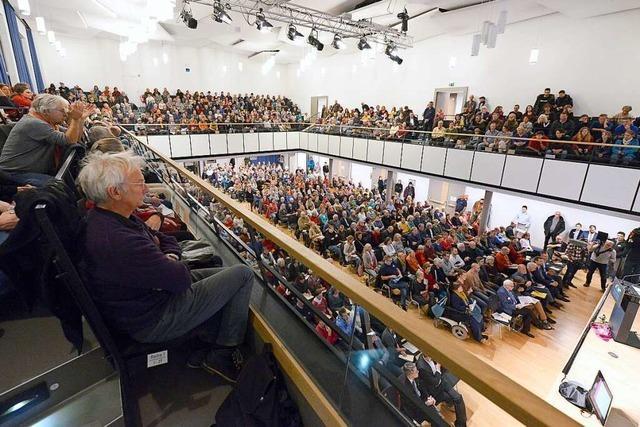 Hans-Bunte-Prozess wird im Freiburger Paulussaal fortgesetzt