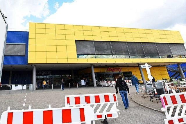 Freiburgs Möbelmeile hat wieder geöffnet – Ansturm bleibt aus