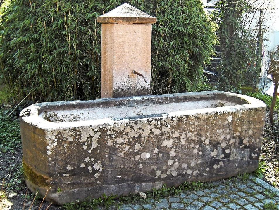 Bevor es häusliche Wasseranschlüsse ga...nd Brauchwasser aus den Dorfbrunnen.    | Foto: Ernst Brugger
