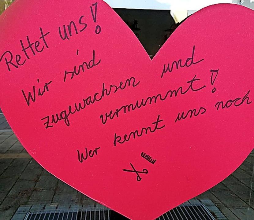 Herzliche Botschaften gab es zum 1. Mai <ppp></ppp>    Foto: