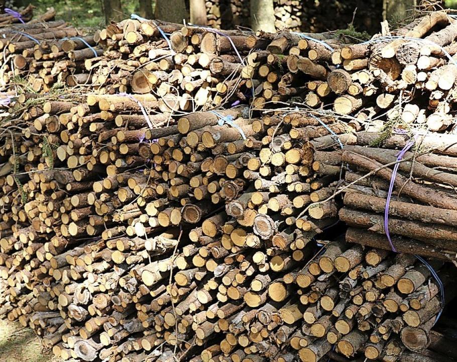 Das andere (arbeitsreiche) Hobby von E...für besonders nachhaltige Wärme sorgt.    Foto: Gudrun Deinzer