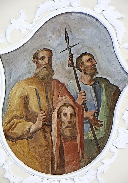 Bartholomäus (links) und Thomas (rechts)  | Foto: Erhard Morath