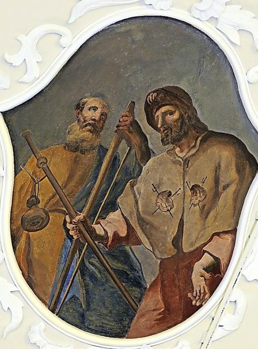 Jakobus der Ältere (rechts) und Jakobus der Jüngere (links)  | Foto: Erhard Morath
