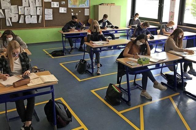 So war der erste Schultag in Waldshut