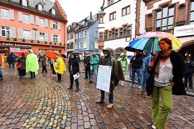 Polizei Freiburg verteidigt ihre Strategie vom Demo-Samstag