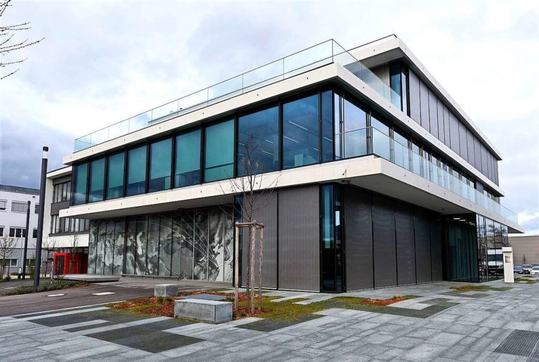 Das Intuitive-Gebäude am Freiburger Flughafen  | Foto: Thomas Kunz