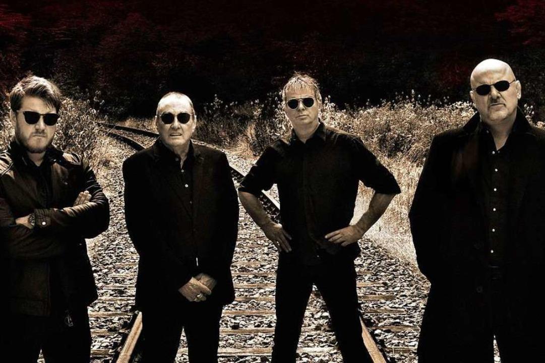 Dave Greenfield (Zweiter von links) war Keyboarder der Band The Stranglers    Foto: David Boni