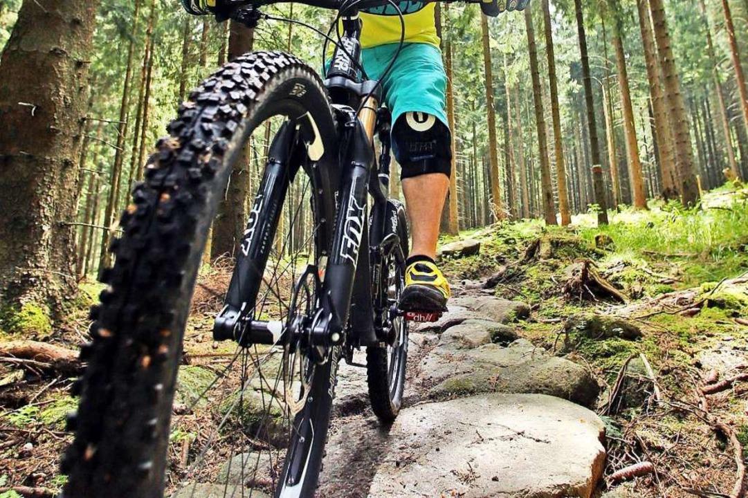 Egal ob Wandern oder Mountainbiken: Sp... ein wichtiger Ausgleich (Symbolbild).  | Foto: Jan Woitas