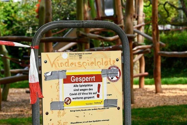 Kinder können ab Mittwoch wieder auf Spielplätze in Freiburg