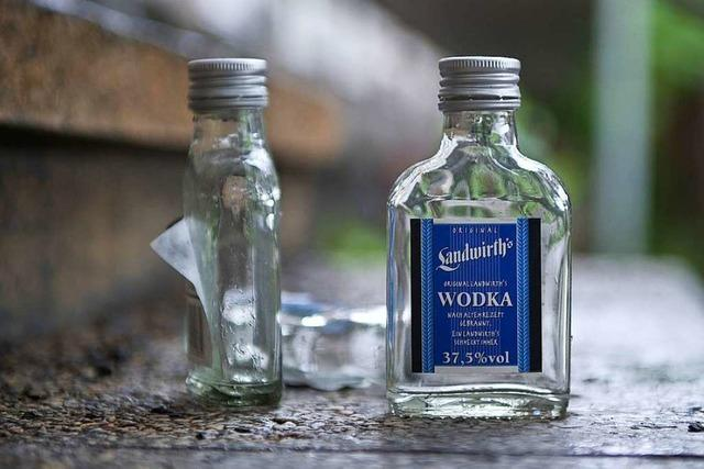 22-Jähriger will Wodka kaufen trotz Hausverbots